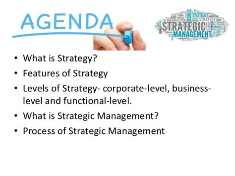 Strategic Management Notes For Mba 4th Sem by Strategic Management Ppt