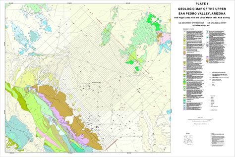 fort huachuca map usgs open file report 99 7 b an interpretation of the