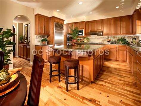kitchen cabinets with floors kitchen wood flooring ideas honey oak kitchen cabinets