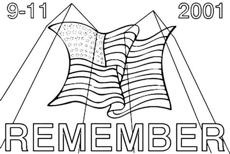 Coloring Page For 9 11 by Remember 9 11 Patriots Day Coloring Pages Best Place To