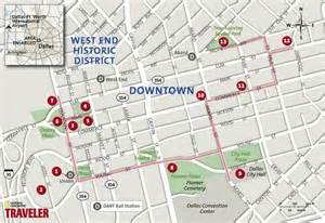 Dallas Downtown Map by Begin Your Downtown Dallas