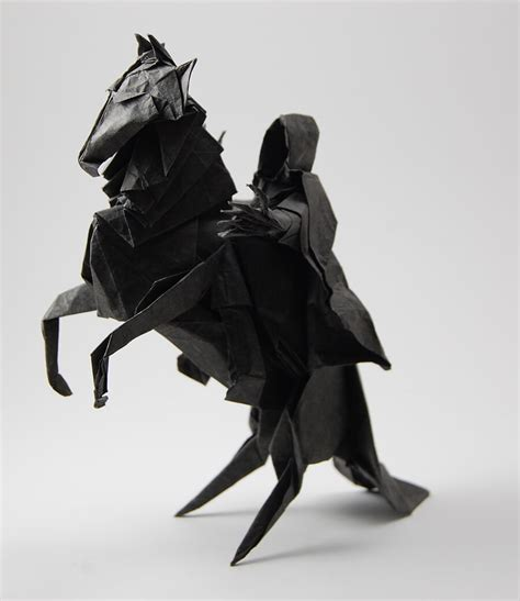 Origami Nazgul - this week in origami july 31 2015 edition