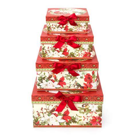 doves nest christmas ribbon decorative nesting boxes apartmanidolores