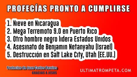 profecias para puerto rico 2016 profecias para puerto rico 6 newhairstylesformen2014 com