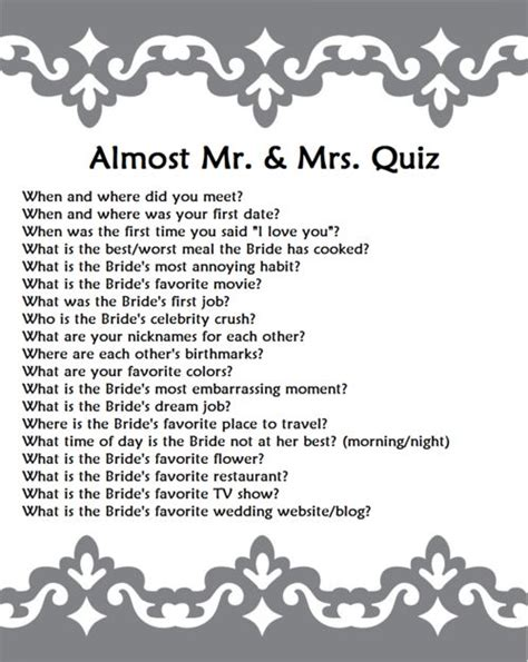 printable bridal shower trivia questions 6 fun engagement party games for adults games and
