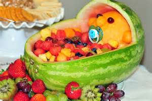 Baby Shower Fruit Basket by Baby Shower Fruit Basket Birds Of The Feather