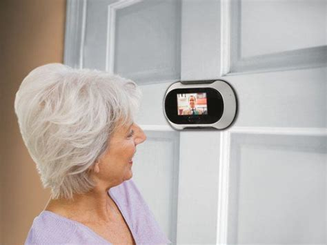 panoramic peephole for door images