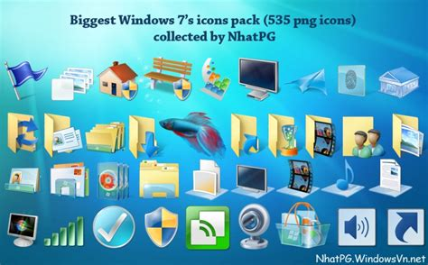 pc themes pack free download big windows 7 s icons pack by nhatpg on deviantart