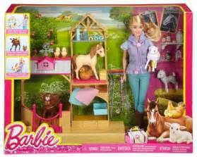 Grocery Barn Barbie Farm Vet Doll Amp Playset Walmart Ca