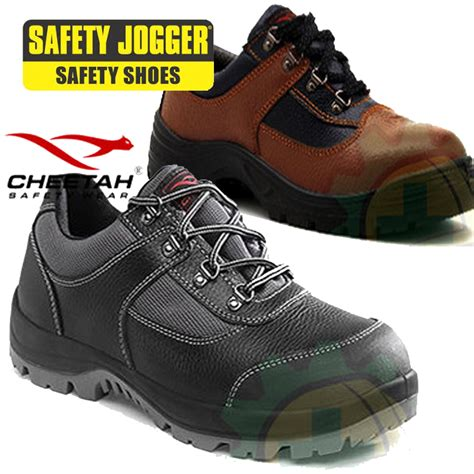 Sepatu Boots Kickers Trekking Safety Black buy cheetah original safety shoes collection jogger hiking sepatu gunung deals for only rp297
