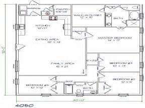 floor plans 40x50 metal building house plans building plans