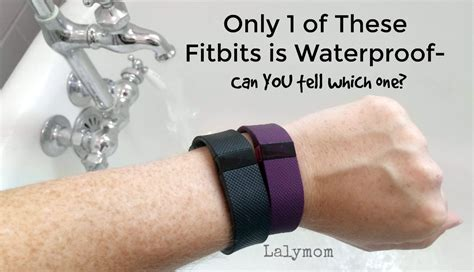 are fitbits waterproof find out which models are lalymom