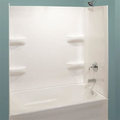 bathtub wall kits lyons elite corner shelf 3 piece bathtub wall kit at menards 174
