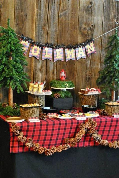 Diy Papercraft Dekorasi Dinding Teddy into the woods outdoor themed kid s birthday