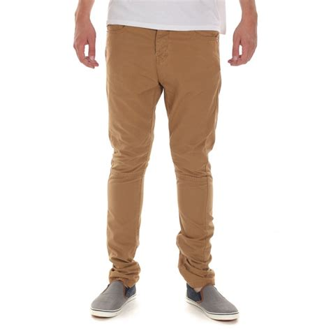 Hm Beige Buttonfly Slim Fit mens beige coldcut slim fit twill