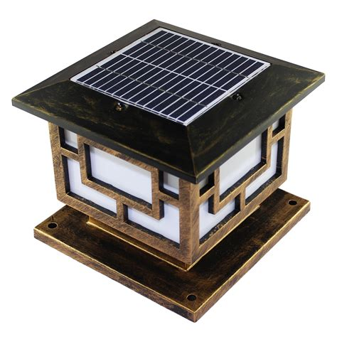 Solar Pole Lights Outdoor 52 Quot Outdoor Solar Post L