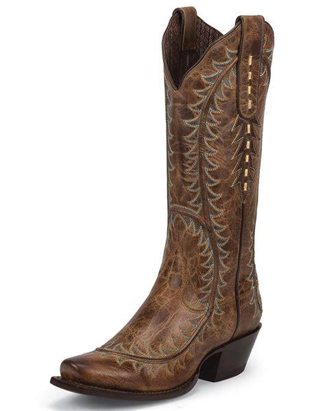 womans cowboy boots nocona s karma 13 snip toe cowboy boots