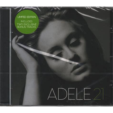 Cd Grande Adele Original Impor 21 Limited Edition By Adele Cd With Edoworld Ref