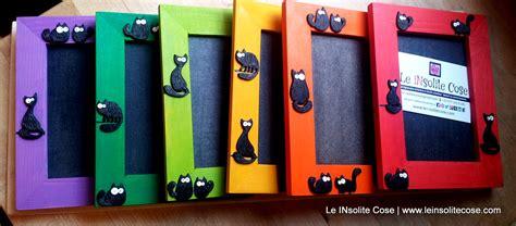 cornici portafoto in legno cornici portafoto in legno con gatti neri le insolite cose