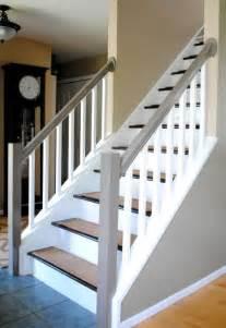 Boden Und Wandgestaltung In Weis Modern Haus Treppengel 228 Nder Streichen In Wei 223 Und Hellgrau Freshouse