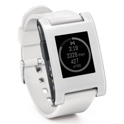 Smartwatch Pebble pebble smartwatch arctic white 301wh b h photo