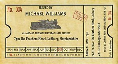 22 Best Images About Birthday Invitations For Kids On Pinterest Thomas The Train Free Fashioned Ticket Template