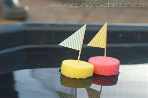 Paper Boat Craft For Preschoolers - easy 5 minute sailboat craft for children the boats are