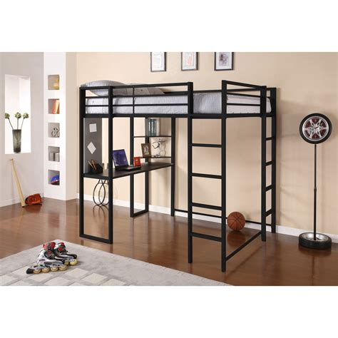 loft bed frame full dhp abode full loft bed black bunk beds loft beds at
