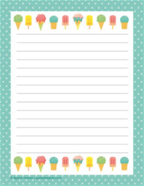 free printable writing paper ayelet keshet