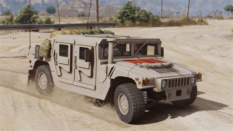 military hummer 2017 ground military vehicles pack add on gta5 mods com