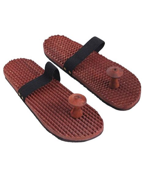 slippers for india craft india wooden relaxing acupressure slippers