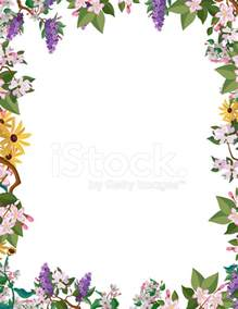 flower border frame stock photos freeimages com