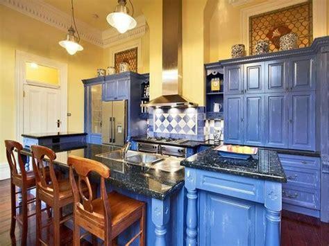 yellow and blue kitchen yellow blue kitchen kitchens