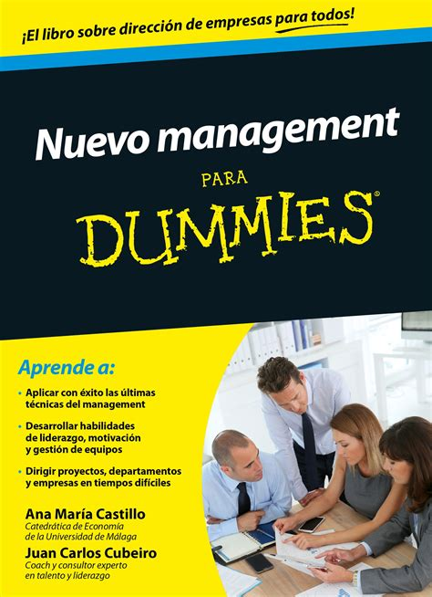 Mba Para Dummies Pdf by Librer 237 A Dykinson Nuevo Management Para Dummies
