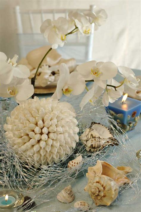 seashell decorations wedding decorations lia s bridal lounge