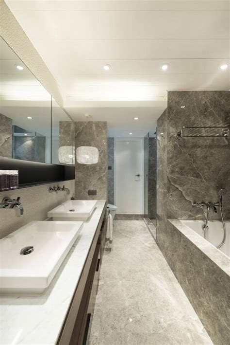 Pedestal Sink Bathroom Design Ideas 20 Captivating Bathrooms With Square Sinks Great Photos