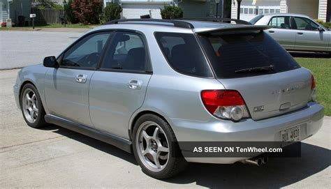 subaru 2004 wagon 2004 subaru impreza wagon awd