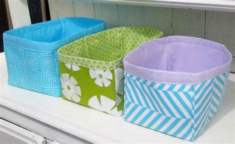 Storage Bag Flower Box Jumbo Cloth Cover Bed Organizer nesting fabric storage boxes allfreesewing