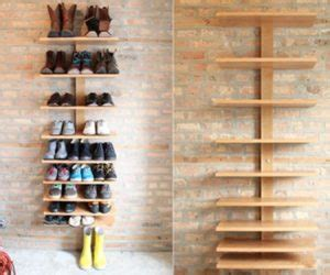 spine wall shelf narrow spaces
