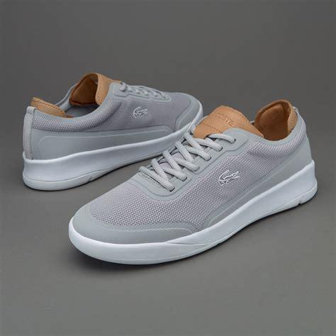 Sepatu Merk Lacoste sepatu sneakers lacoste lt spirit elite light grey