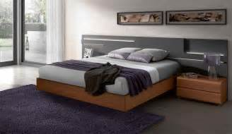Modern Wooden Bed With Storage Designs Lacquered Made In Spain Wood High End Platform Bed With