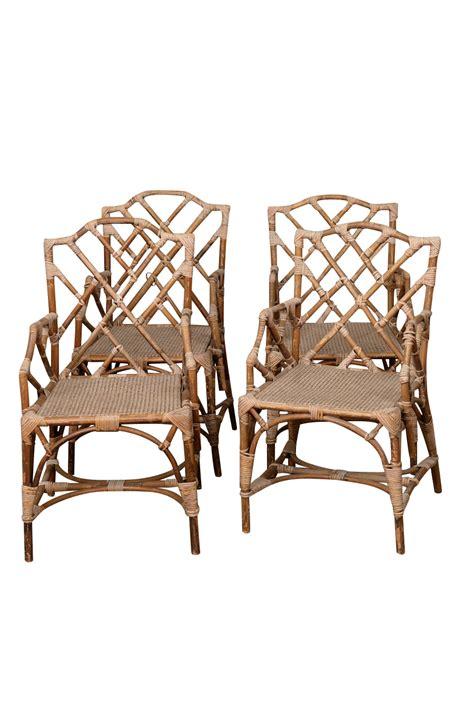Rattan Arm Chairs Guchi Rattan Armchairs Found Vintage Rentals