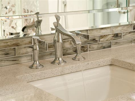 Kitchen Sink Backsplash Ideas mercer island small bath traditional bathroom