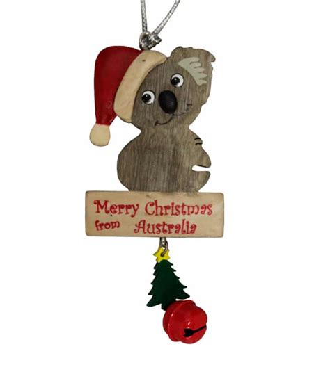 australian christmas decorations wholesale koala ornament australia the gift australian souvenirs gifts