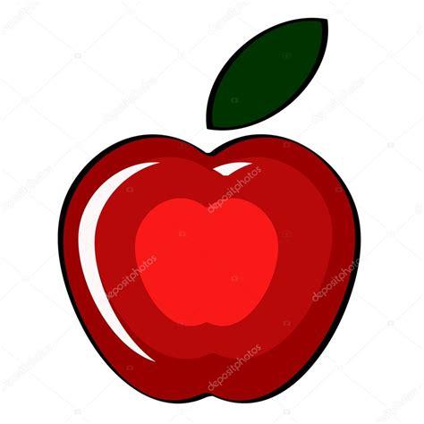 imagenes de manzanas rojas animadas manzana roja dibujo www pixshark com images galleries