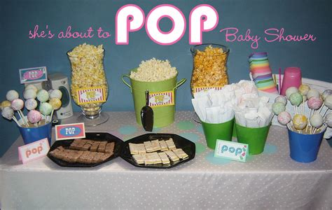pop themen baby shower idea she s about to pop