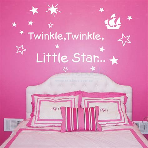 twinkle twinkle wall stickers twinkle twinkle wall sticker