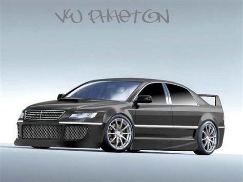 volkswagen phaeton body vw phaeton concept body kit gear head pinterest