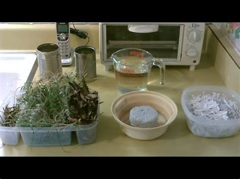 How To Make Paper From Sawdust - sawdust and paper mache briquette burn test makeup guides