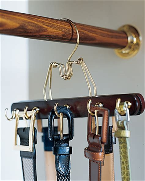 How To Organize Belts In A Closet by Diy How To Organize Belts In Your Closet Cable Car Couture